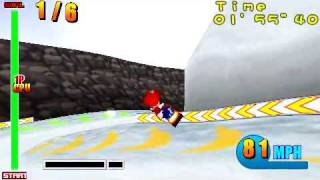 Ape Escape: On the Loose - Minigame: Snowkidz Racing