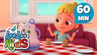 Polly Put the Kettle On - Educational Songs for Children | LooLoo Kids
