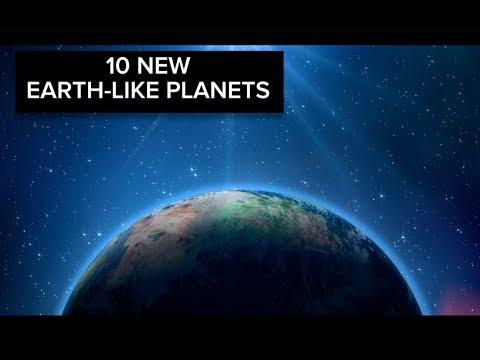 NASA discovers 10 earth-like planets