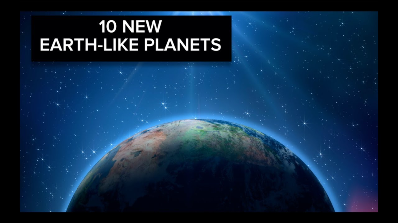 Nasa Discovers 10 Earth Like Planets Youtube