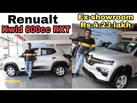 RENAULT KWID 800 CC RXT review , price