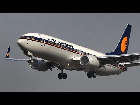 LANDING AT INDIRA GANDHI INTERNATIONAL AIRPORT II NEW DELHI II JET AIRWAYS