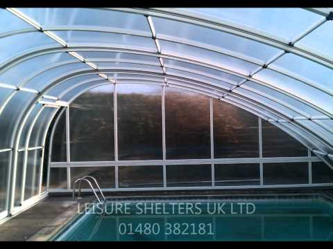 Monaco Future swimming pool enclosure from Leisure Shelters UK Ltd- Tel: 01480 382181