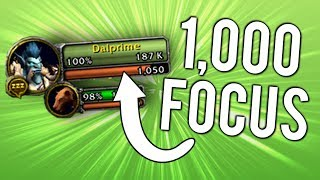 My Hunter Has 1000 Focus Because Of A Bug - WoW: Battle For Azeroth 8.1.5
