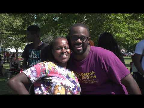 Council Corner -  District 4 Detroit City Council Member André L. Spivey Family Fun Day