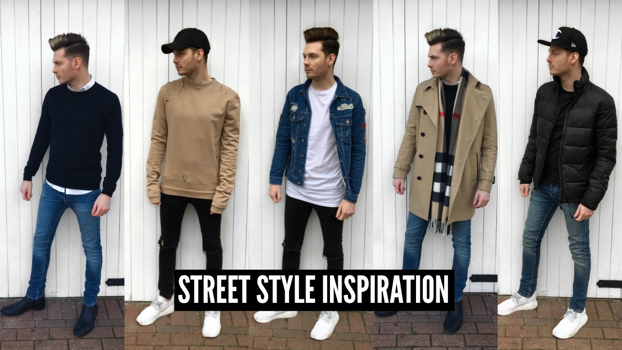 Mens Fashion 2018 Street Style Haul Winter Ad Youtube
