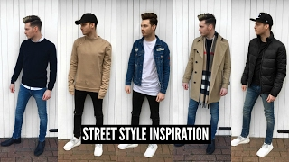 Mens Fashion 2017 Street Style Haul - Winter #Ad