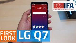 LG Q7 Mid-Range Smartphone First Look