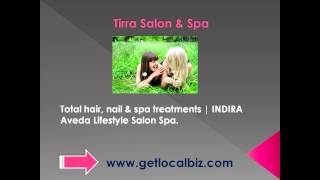 Total hair, nail ; spa treatments - INDIRA Aveda Lifestyle Salon Spa - Get Local Biz Thumbnail