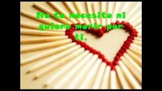 No te necesito (Nunca fue necesidad) - Santiago Cruz (Letra)
