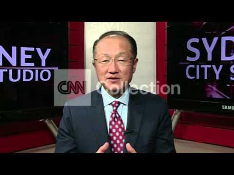 HK: WORLD BANK PRESIDENT ON EBOLA