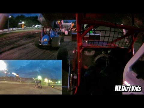 Dan Douville 7x In-Car SCoNE | Bear Ridge Speedway July 4th, 2015