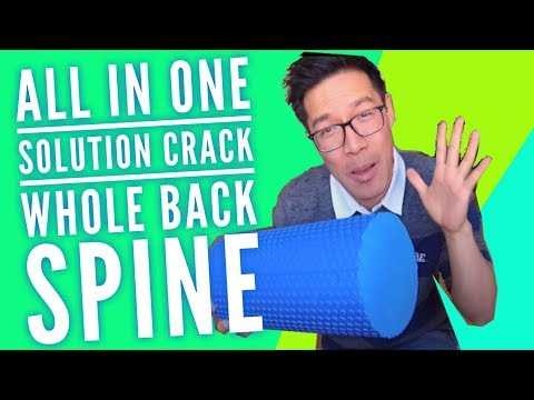 How to Crack Back Massage with Foam Roller