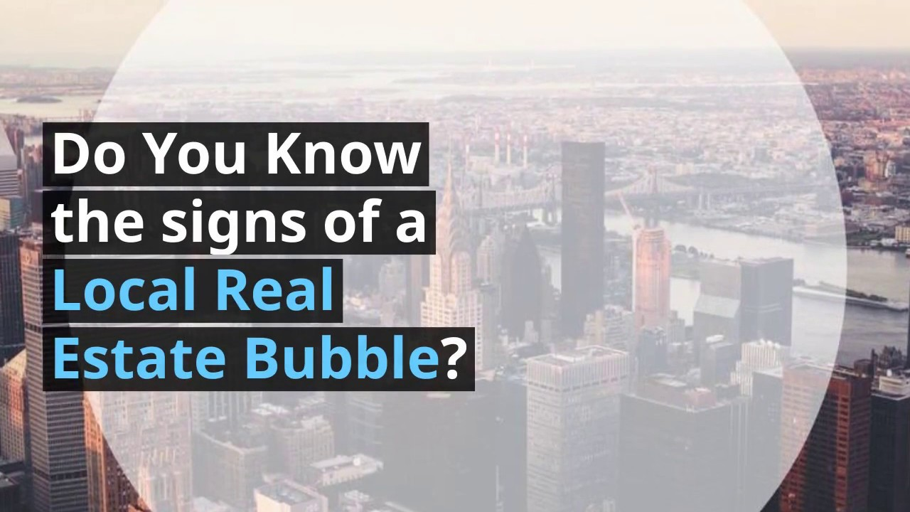 5 Signs of a Real Estate Bubble