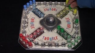 How To Play Original TROUBLE Board Game screenshot 5