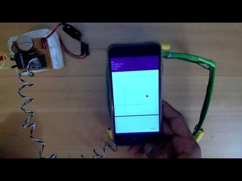Electromagnetic tracking prototype using iPhone  magnetometer