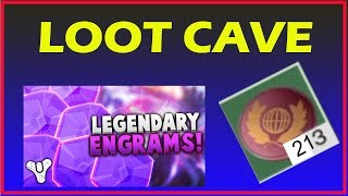 Destiny 2  LOOT CAVE  GLITCH | UNLIMITED ENGRAMS & TOKEN