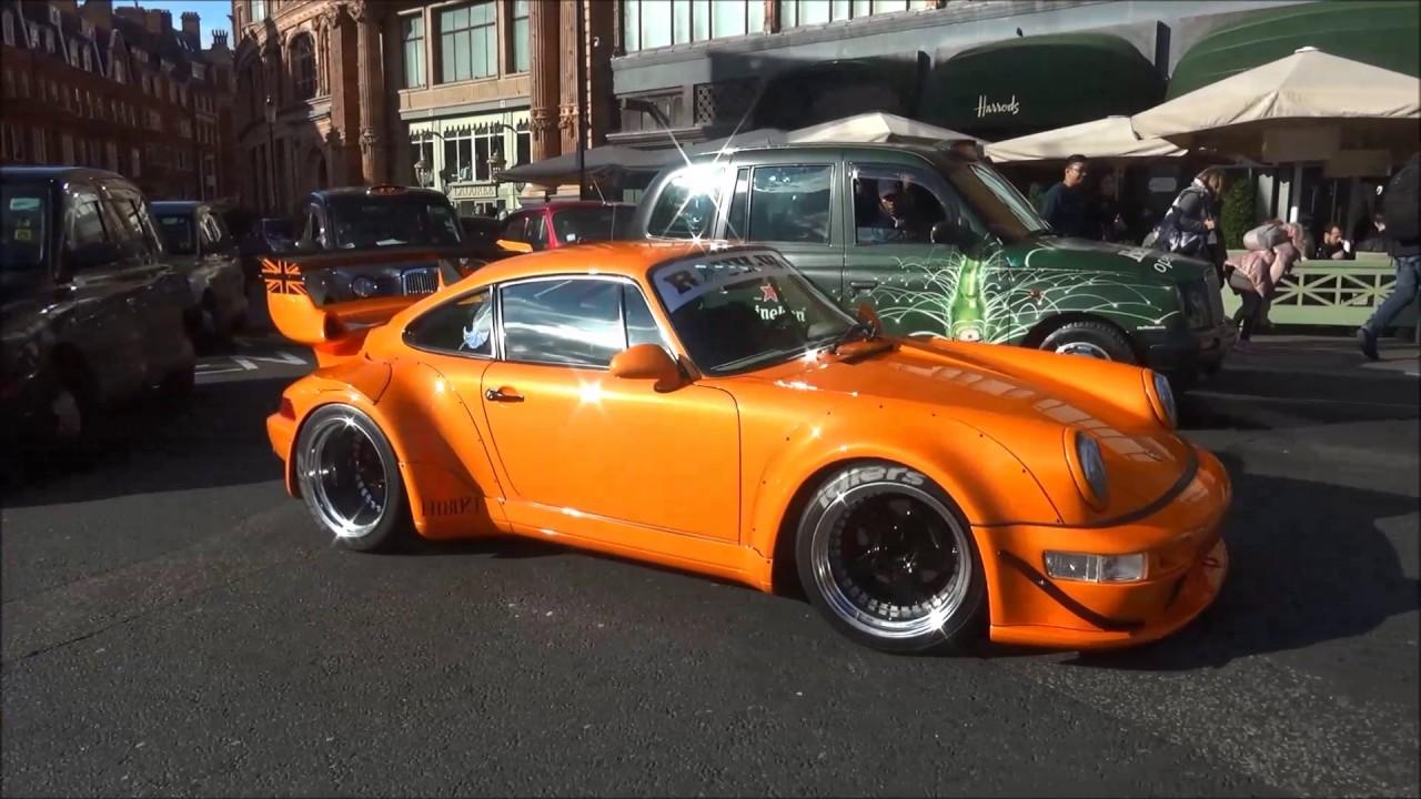 First Rwb Porsche 911 In London Start Up And Driving