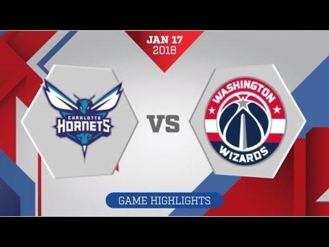 Washington Wizards vs Charlotte Hornets: January 17, 2018
