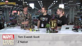 Tom Everett Scott Discusses Which Marvel Character Would Survive a Zombie Outbreak at NYCC 2014