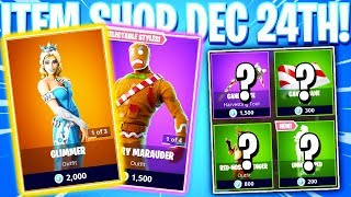 Fortnite Item Shop! GLIMMER SKIN! Daily & Featured Items! (December 24th 2018)