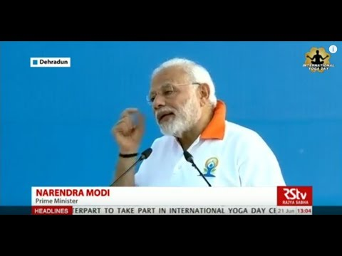 Yoga one of the biggest unifying forces all over the world, says PM Modi