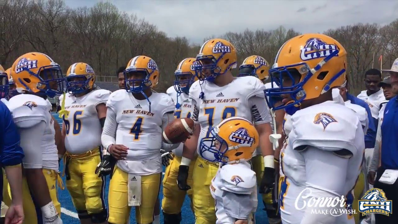 University Of New Haven Delivers Connor S One True Wish Youtube