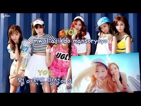 Apink (에이핑크) - Remember (리멤버) (karaoke/instrumental)