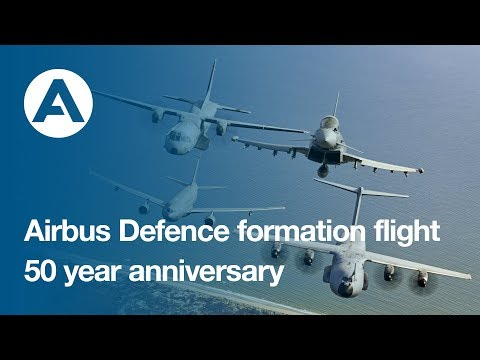 Airbus Defence formation flight: 50-year anniversary
