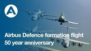 Airbus Defence family flight: 50-year anniversary of Airbus