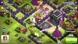 Clash Of Clans: #37 -Crystal League gameplay + Defence