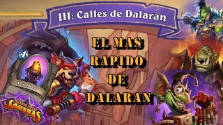 Aventura: El Gran Atraco a Dalaran - Las Calles de Dalaran Cap 3.2 | Hearthstone