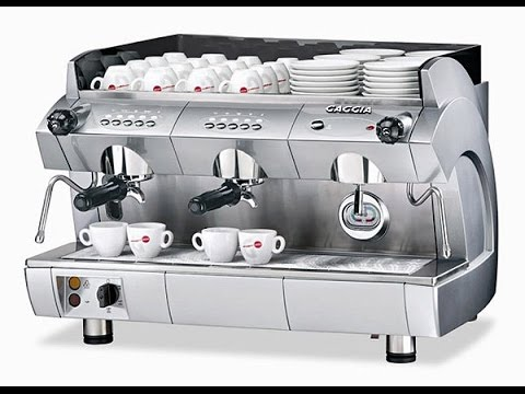 Industrial Coffee Machines For Sale Cape Town - YouTube
