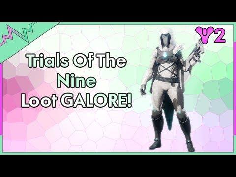 Trials Loot x3   FULL Hunter Gear & All Weapons!   Destiny 2 Trials of the Nine