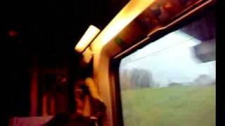 Скоростной поезд из Брюсселя в Париж
