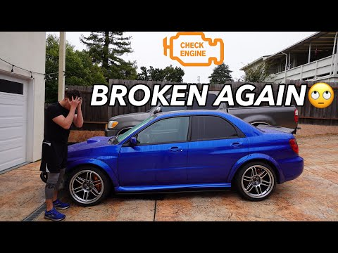 MY BUILT WRX BROKE! AGAIN…