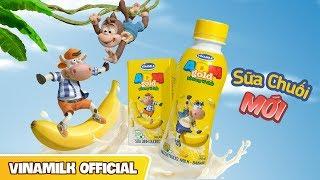 Quảng cáo Vinamilk - Sữa Dinh Dưỡng ADM GOLD Chuối - Tặng 1 hộp khi mua 2 lốc