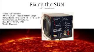 Fixing the Sunfire MK2 true subwoofer