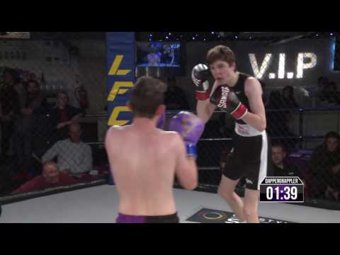 Lion Fighting Championships 10 - BATTLEZONE - Leon Dunlop  VS  Alex Brandon