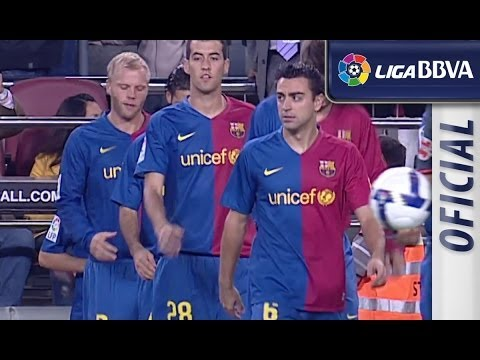 Highlights FC Barcelona (6-1) Atlético de Madrid 2008 - 2009 - HD