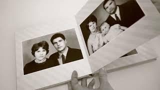 Фотокнига на 50 лет. Золотая свадьба