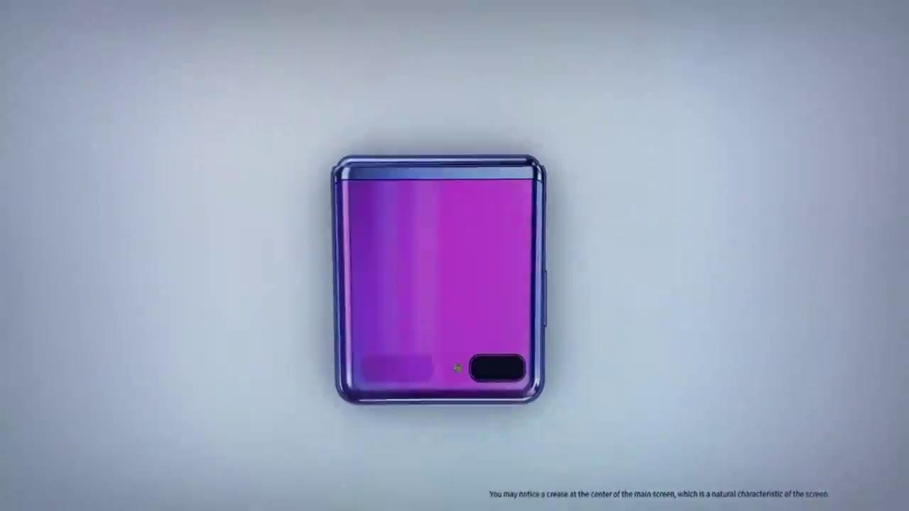 Samsung представила складной смартфон Galaxy Flip Z на церемонии «Оскар»