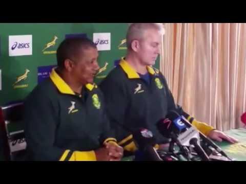 Allister Coetzee ahead of All Blacks clash in Durban