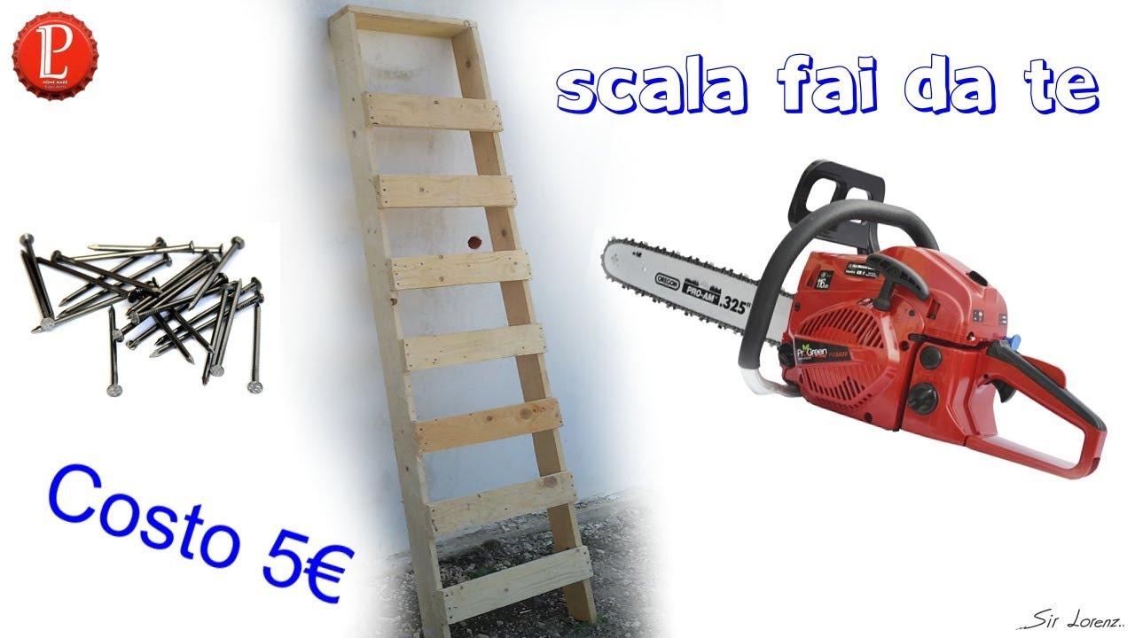 costruire una scala in legno 5 con tutorial youtube