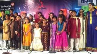 Surya and Nakshathra Perfoming Mahaganapathim Fusion -the first stage
