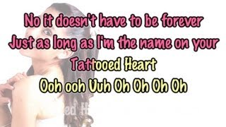Ariana Grande - Tattooed Heart [ Piano Karaoke / Instrumental ]