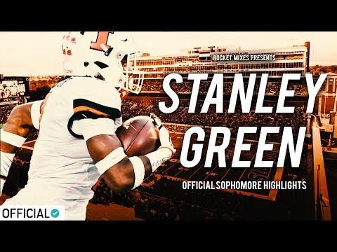 Hardest Hitter in College Football - Stanley Green Jr. || Official Sophomore Highlights