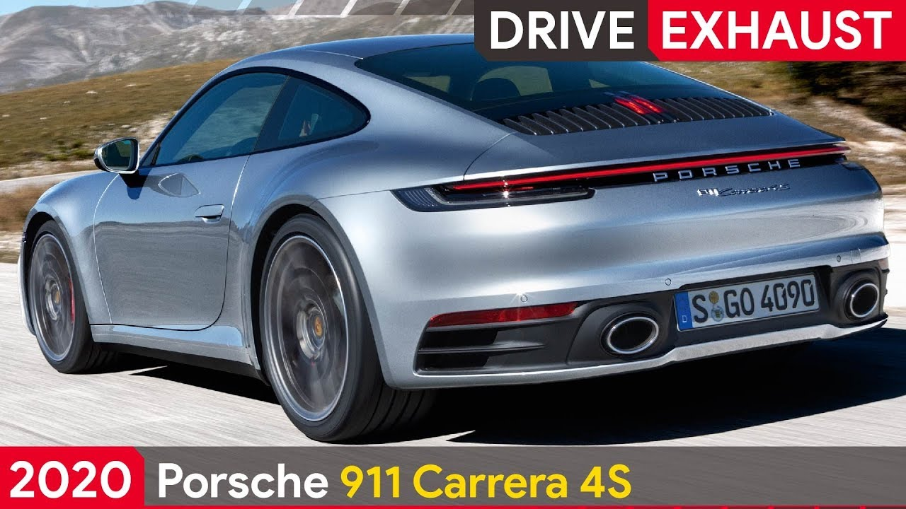 2020 porsche 911 carrera 4s drive exhaust