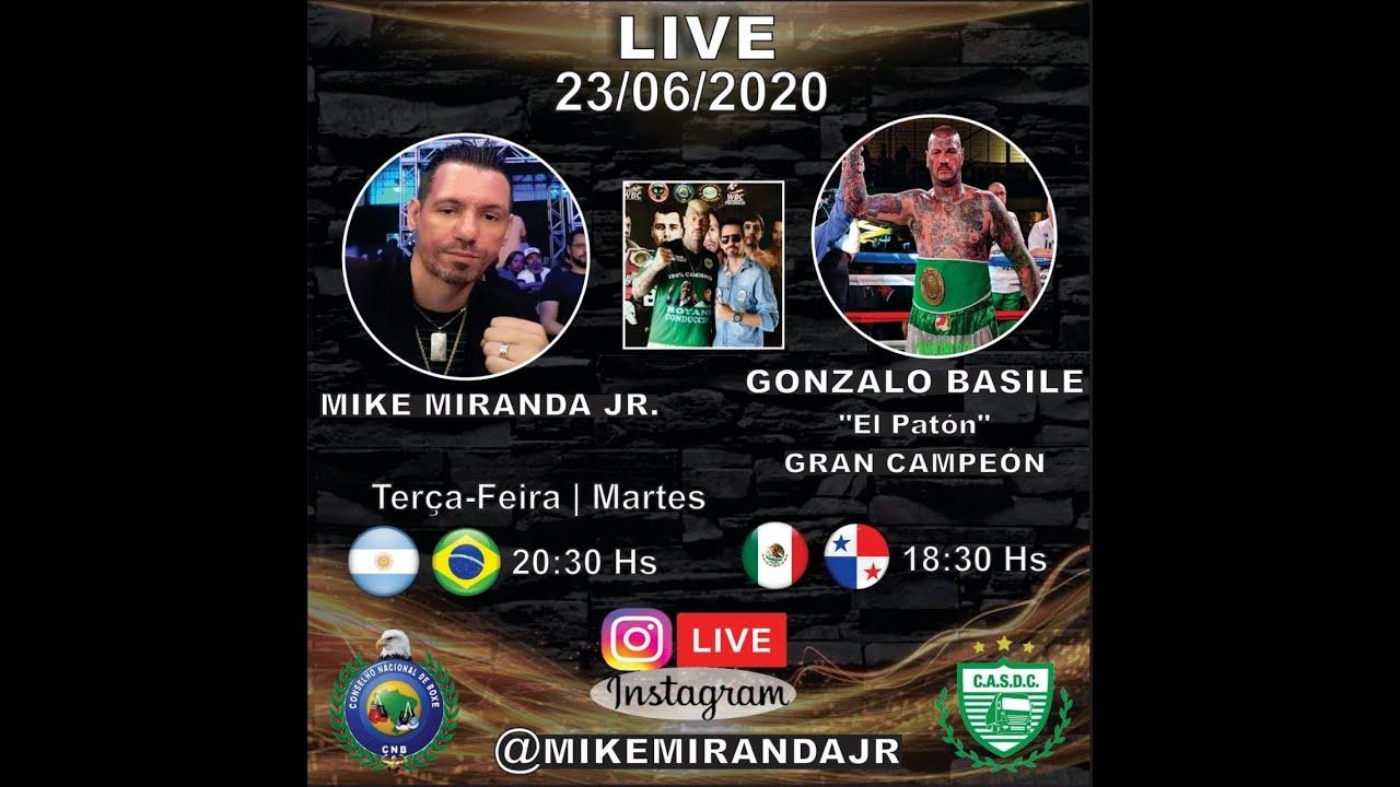 "Live: Mike Miranda Jr e Gonzalo Basile ""El Patón"""