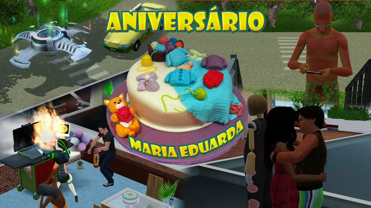 How To Make A Birthday Cake In The Sims